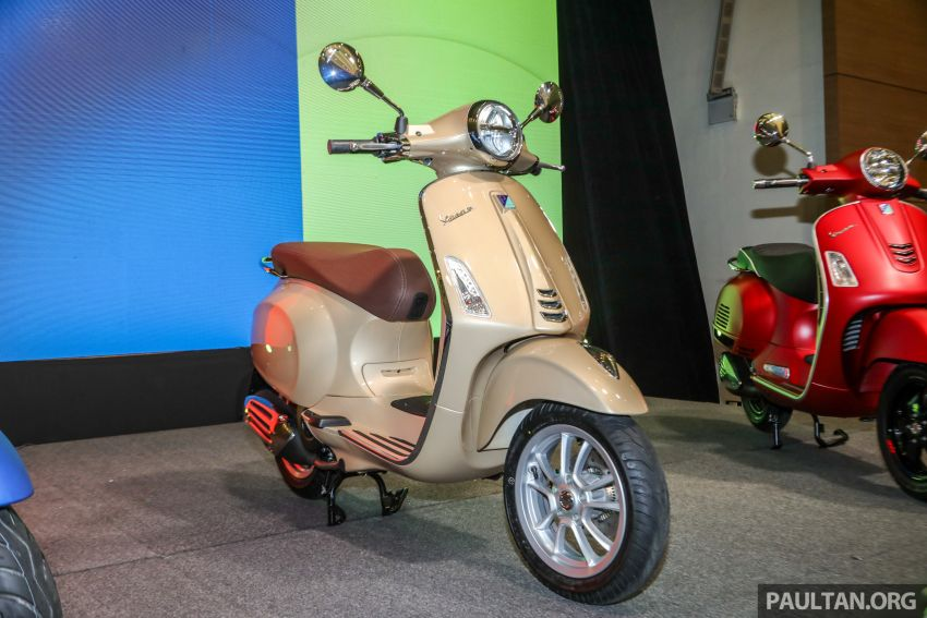 2018 Vespa GTS 300 Super Sport, Sprint and Primavera