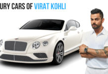 Virat Kohli's Luxury Cars