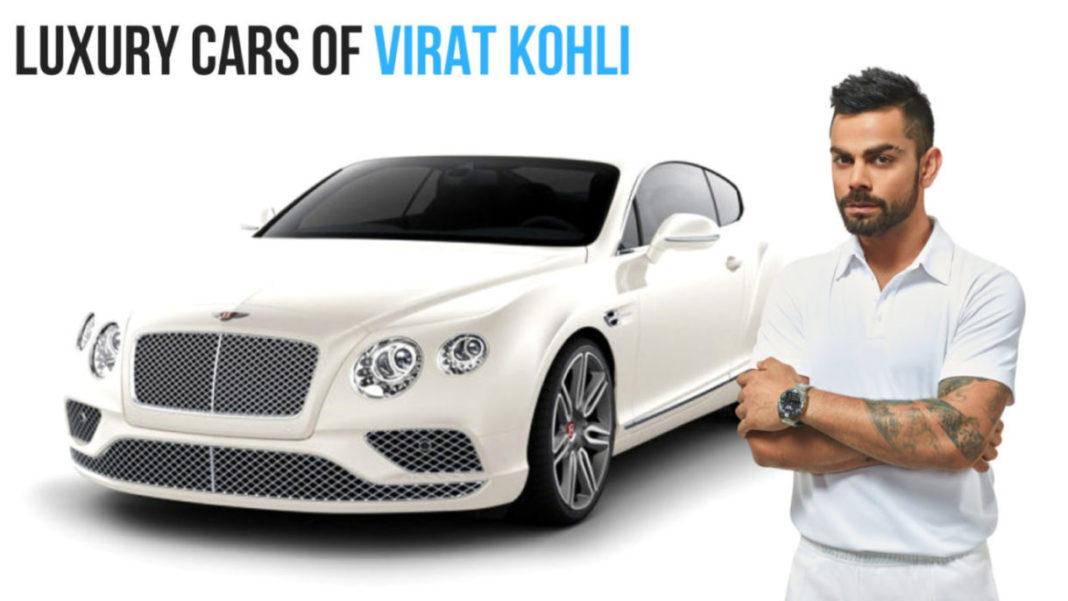 Virat Kohli's Luxury Cars