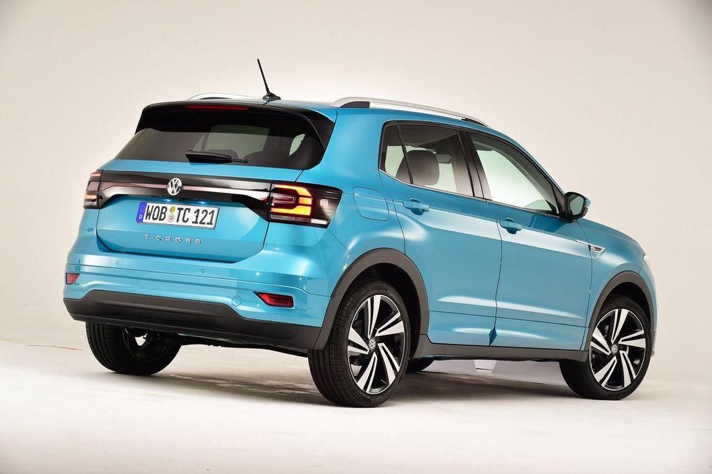 India-Bound Volkswagen T-Cross SUV Delivery To Begin From ...