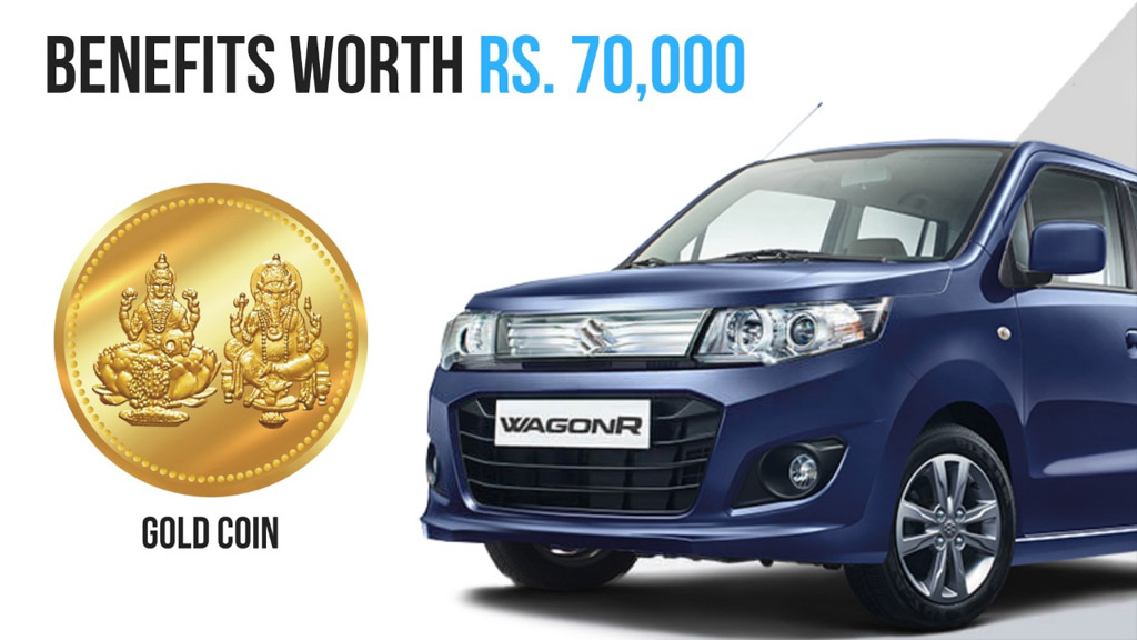 Wagon R discount India october