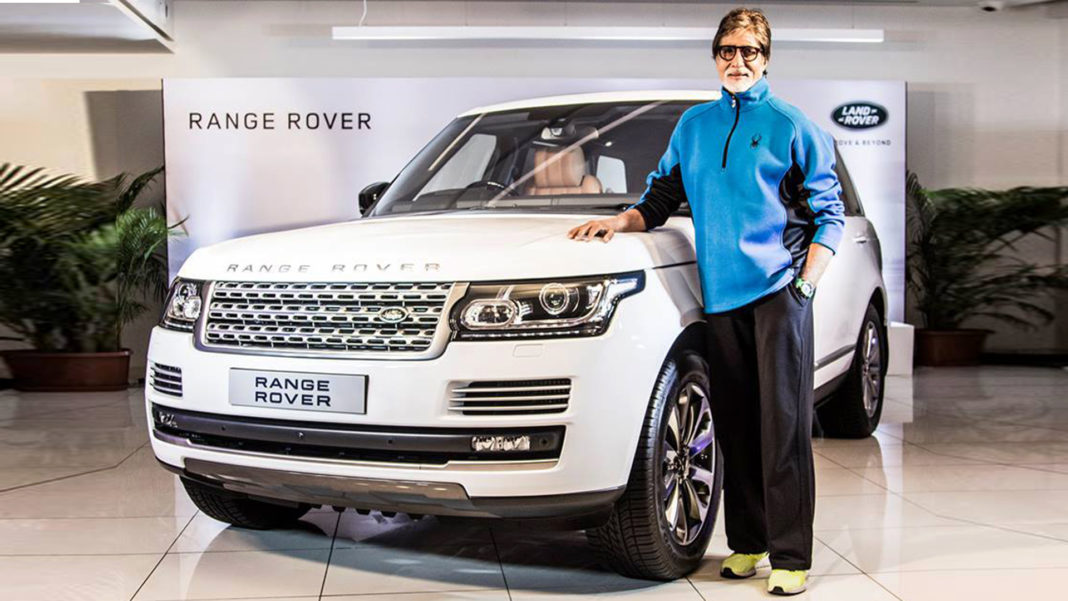amitabh range rover autobiography