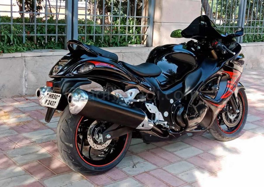 Bajaj Dominar Customised Into Hayabusa For Just Rs  2 Lakh