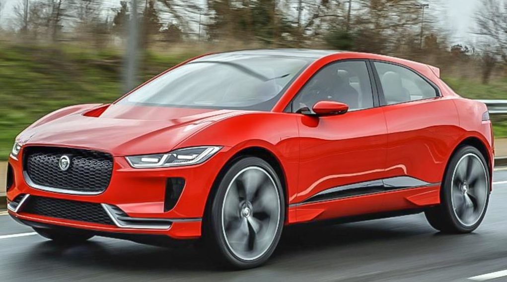 jaguar electric concept I-Pace