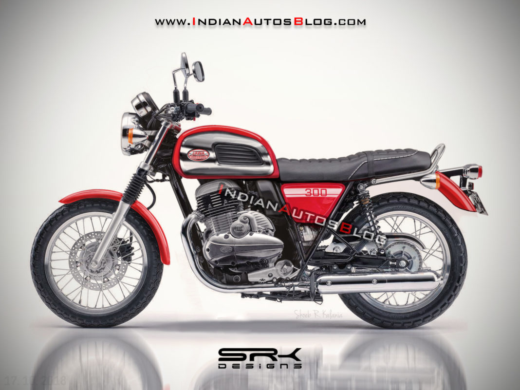 jawa 300cc roadster royal enfield rival images