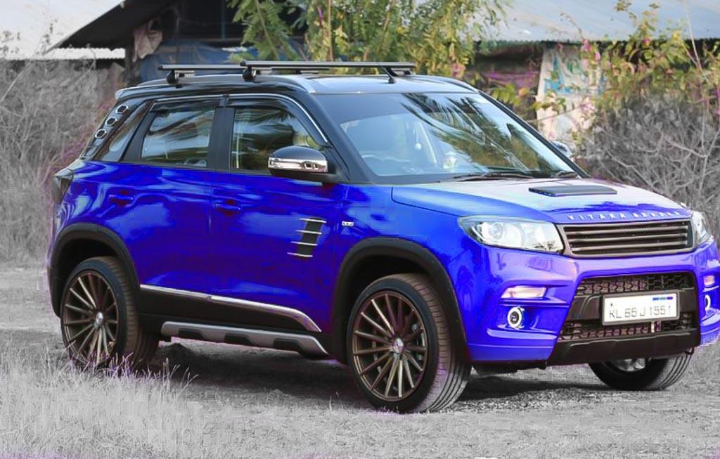 Swift 2018 India >> Maruti Vitara Brezza: 5 Hot Modified SUVs From India