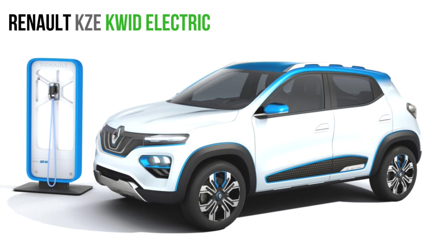 India-Bound Renault KWID Electric (Renault KZE) With 250 ...