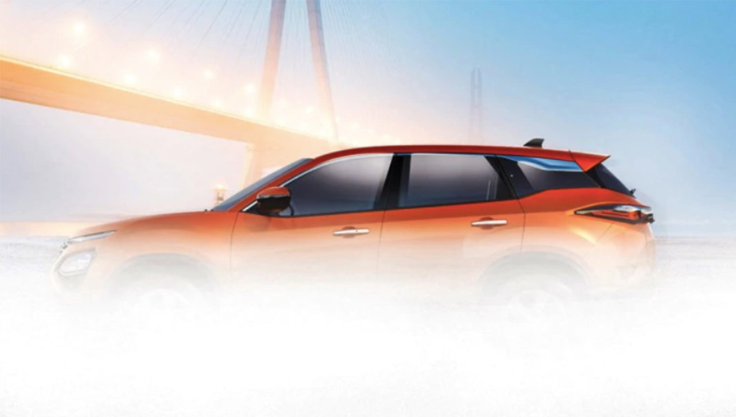 tata harrier side view