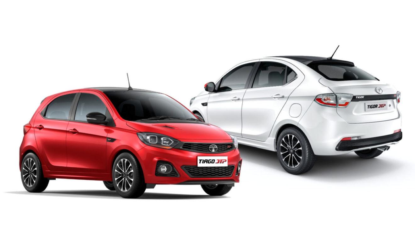 tata tiago jtp, tigor jtp (top 10 car launches 2018)