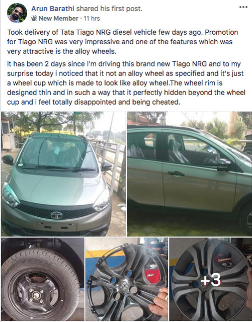 tata tiago nrg wheels