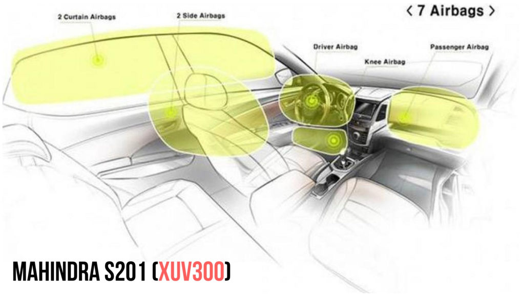 xuv300 airbags
