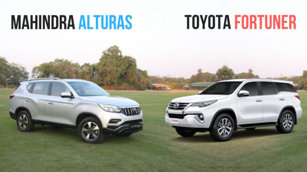 15 Advantages Flagship Mahindra Alturas Has Over Toyota Fortuner