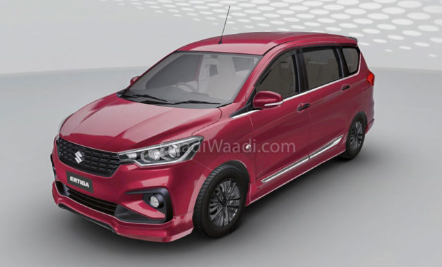2018 Maruti Suzuki Ertiga Customised