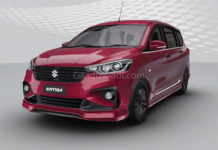 2018 Maruti Suzuki Ertiga Customised Front 1