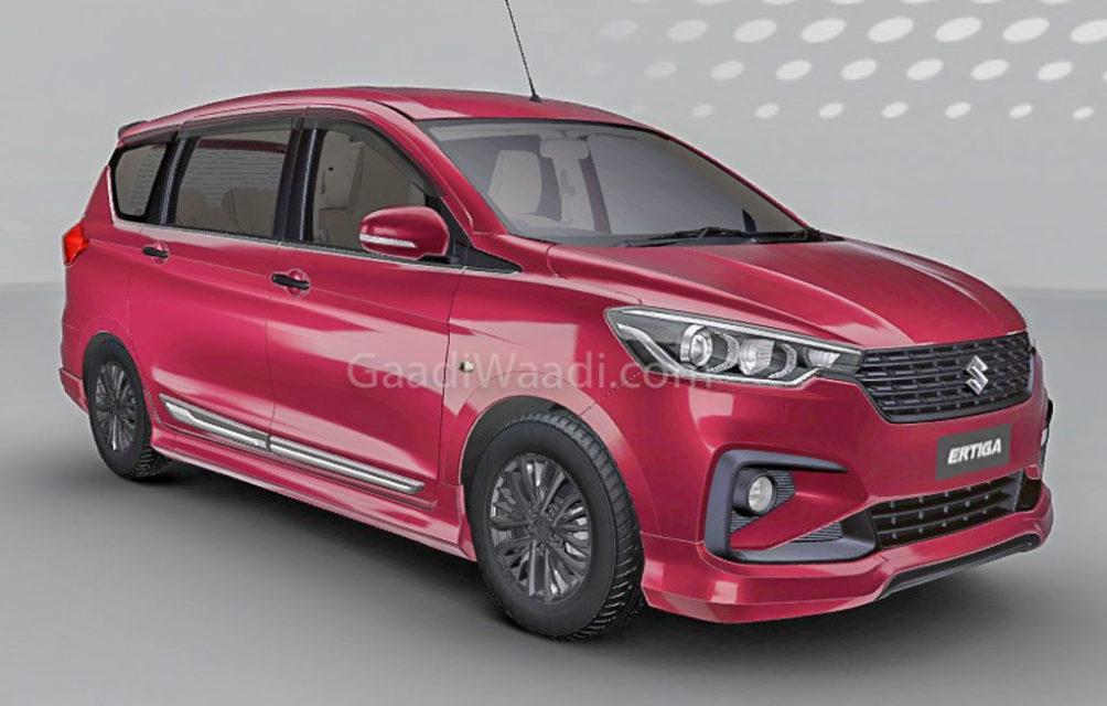2018 Maruti Suzuki Ertiga Customised Front 2