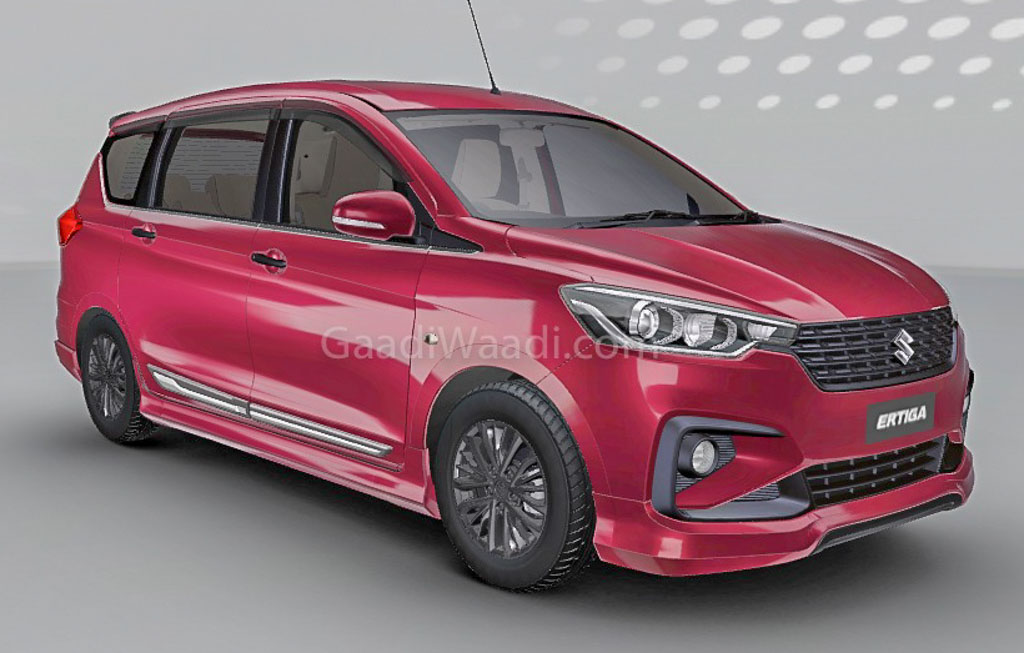 2018 Maruti Suzuki Ertiga Customised Front 2