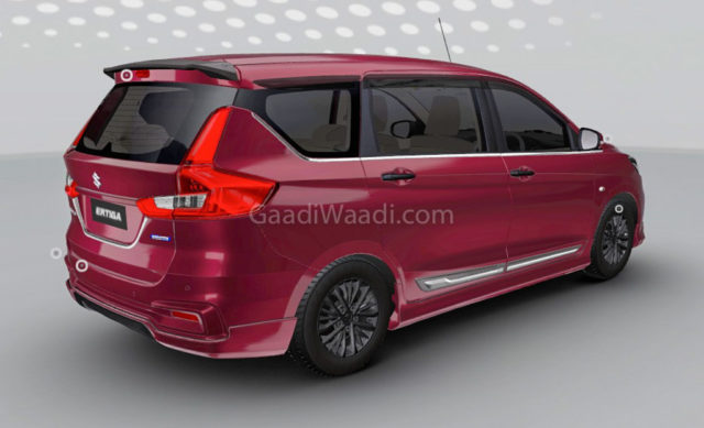 2018 Maruti Suzuki Ertiga Customised Rear 1
