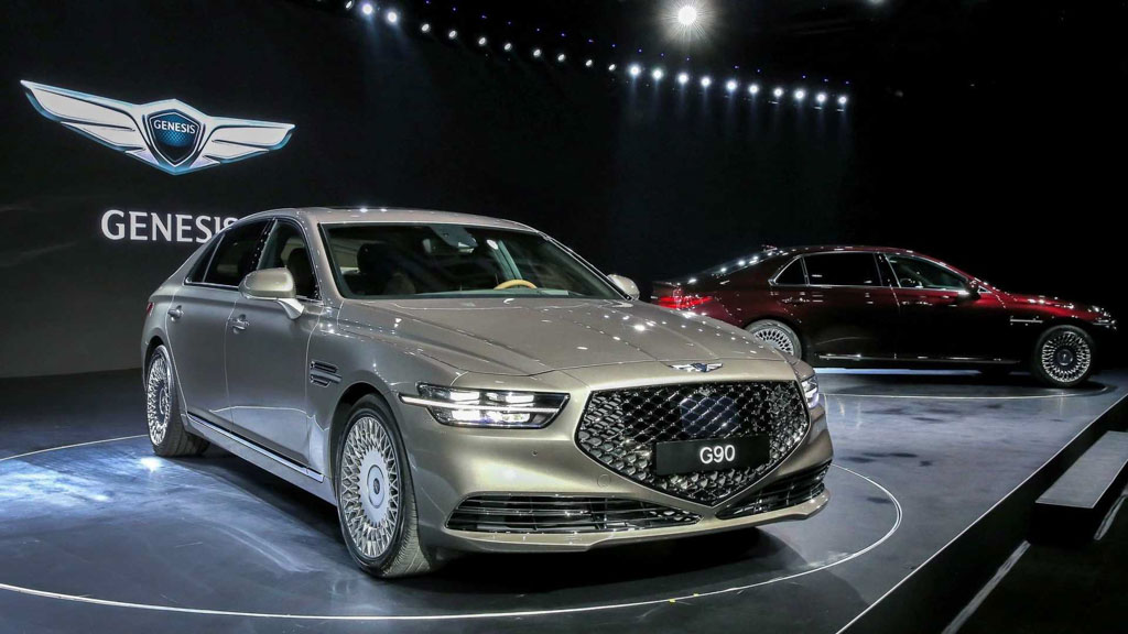2019 Hyundai Genesis G90 Luxury Sedan Unveiled