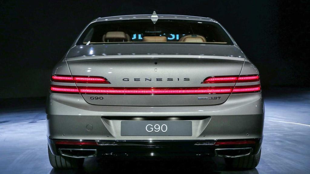 2019 Genesis G90_