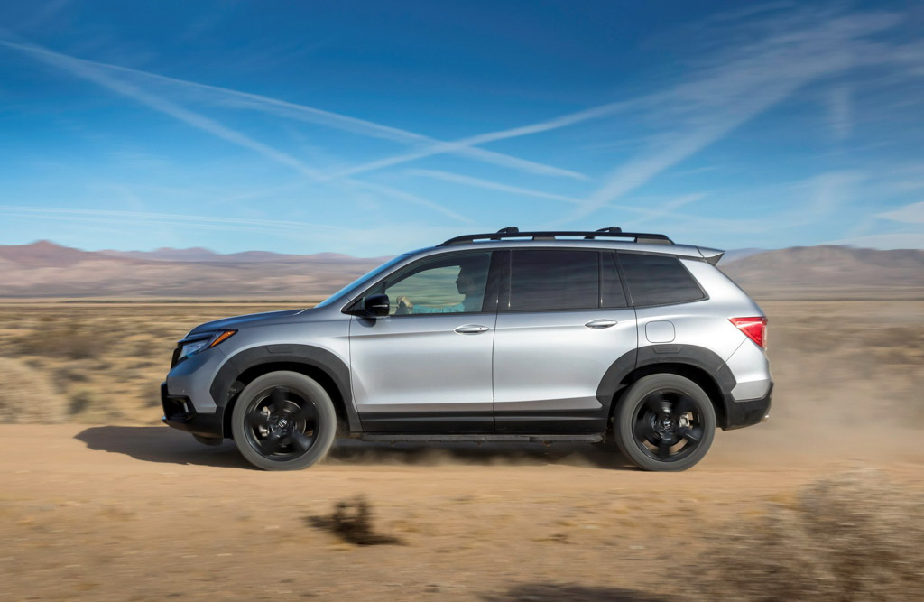 2019 Honda Passport Side Profile