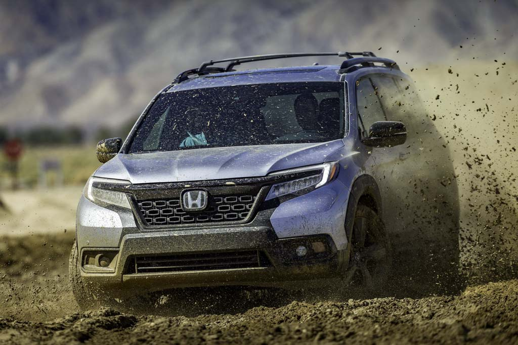 Honda Passport - five-seater Pilot makes LA debut