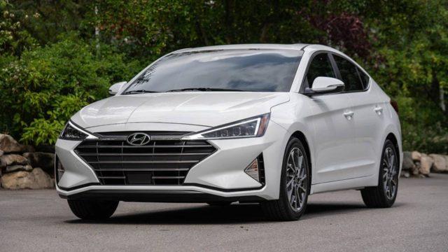 2019 Hyundai Elantra Facelift Spotted Testing India