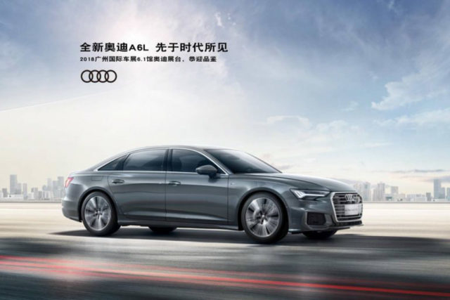 Audi A6 L Sedan_