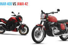 Bajaj Dominar 400 Vs Jawa Forty Two - Comparison