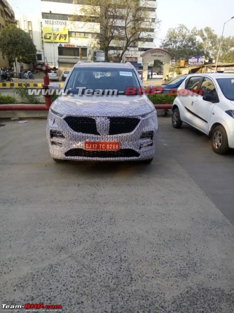 Boajun-530-SUV-spied-with-MG-grille-1