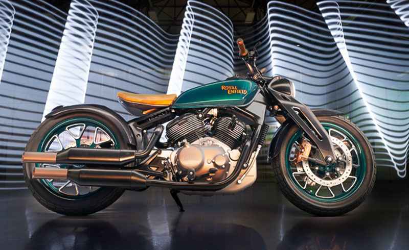 Production Spec Royal Enfield Bobber 830 Could Launch In 2020
