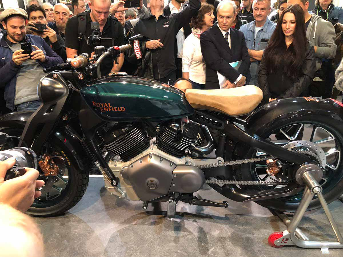 Royal Enfield Unveiled The Kx 838cc V Twin Concept At Eicma