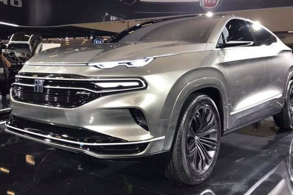 Fiat Fastback Concept Revealed At Sao Paulo Motor Show 2018