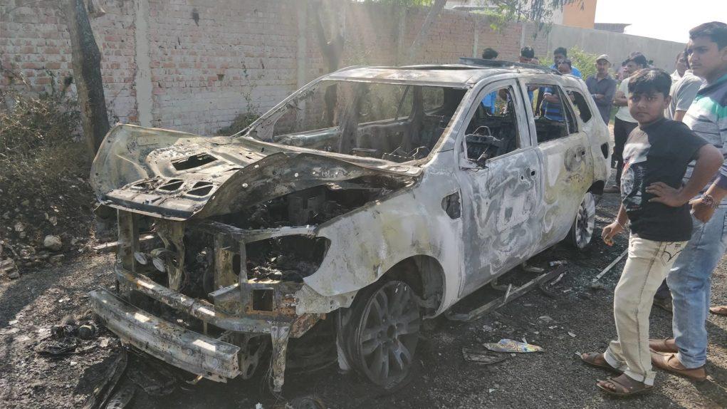 Ford endeavour fire badodra