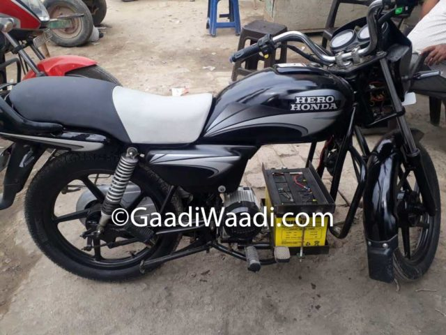 Hero Splendor Electric Jugaad 3