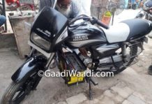 Hero Splendor Electric Jugaad_