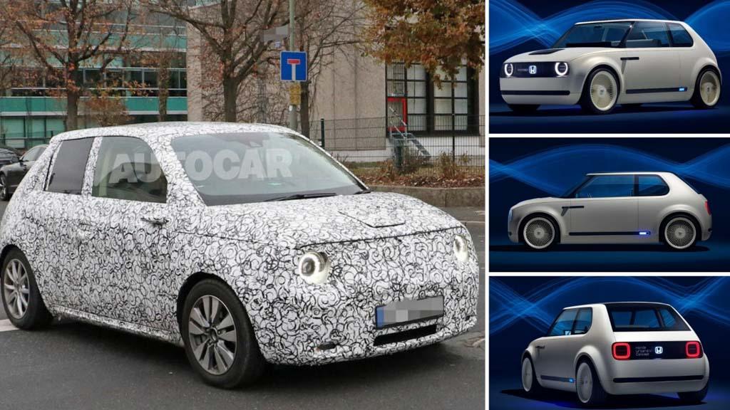 Honda Urban EV Spied_