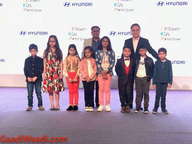 Hyundai Brilliant Kids Motor Show 2018