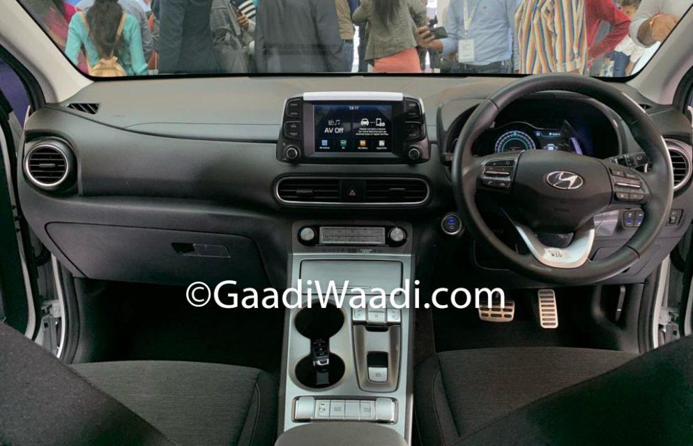 Hyundai Kona EV India Launch, Price, Specs, Features, Range, Interior, Booking 4