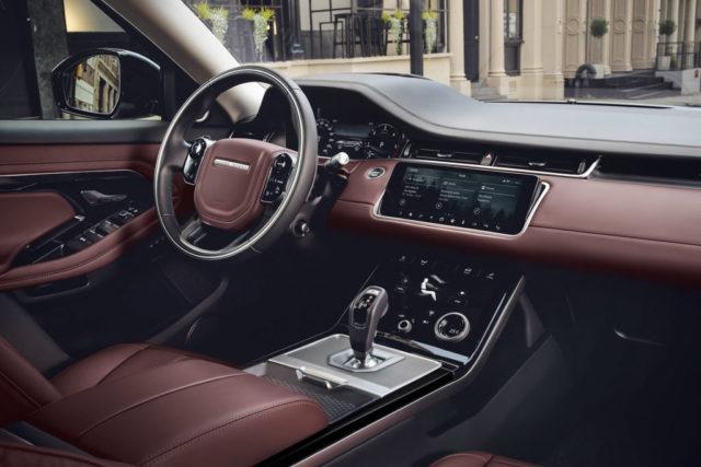 India-Bound 2019 Range Rover Evoque Interior