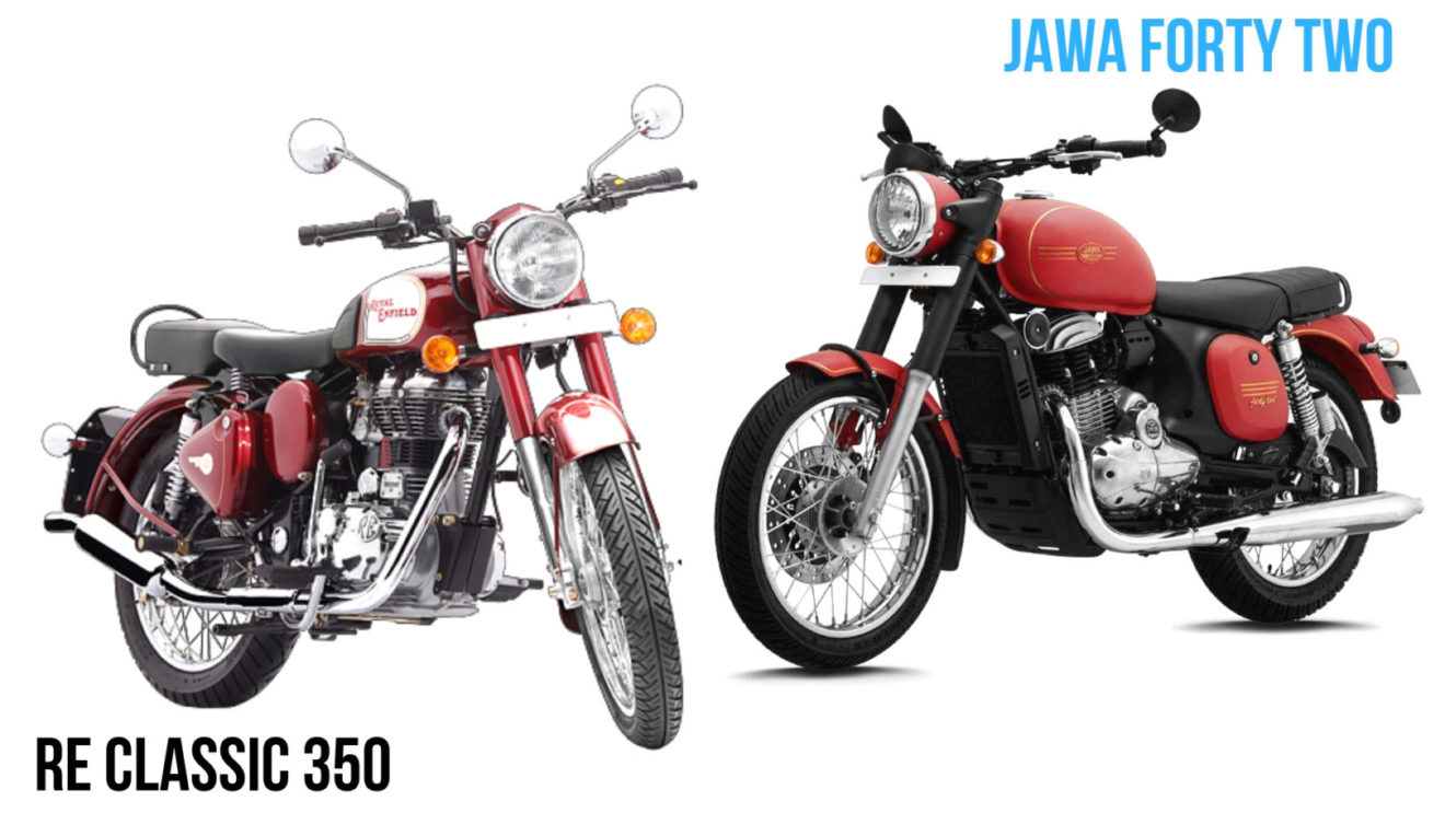 Jawa Forty Two Vs Royal Enfield Classic 350 Comparison