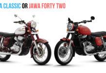 Jawa Forty Two or Jawa Classic – Comparison