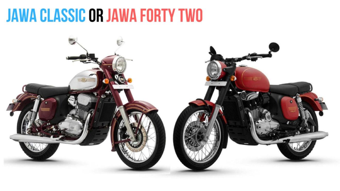 Jawa Forty Two Or Jawa Classic Comparison