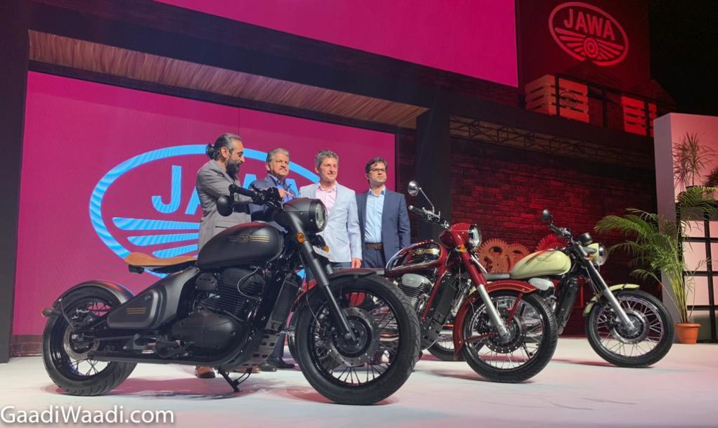 Jawa comeback india launches 3 motorcycles