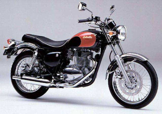 Kawasaki BJ250 Estrella 1