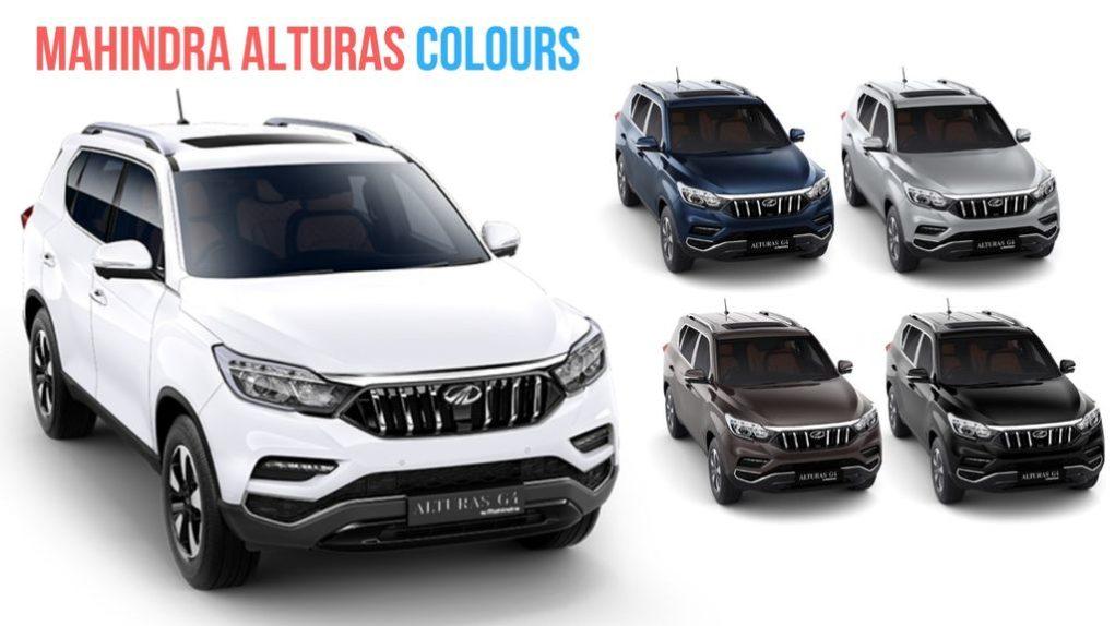 Mahindra-Alturas-G4-Colours