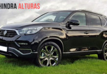 Mahindra Alturas SUV India launch, Price, Specs, Features, Interior, Rival