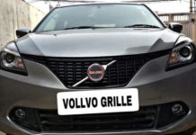 Maruti-Baleno-with-Volvo-Grille