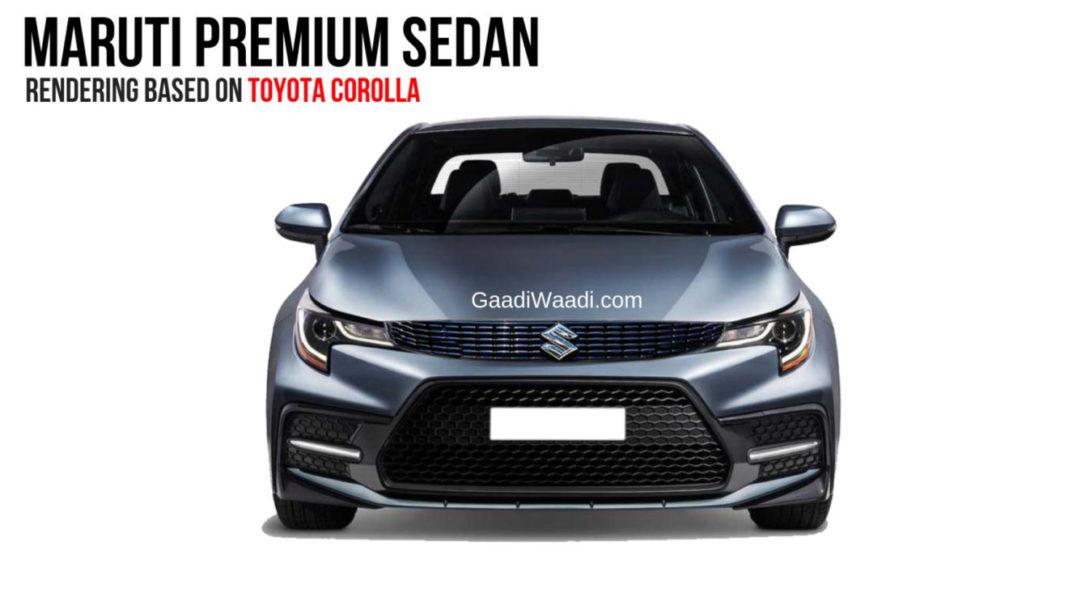Maruti Corolla Based Premium Sedan front