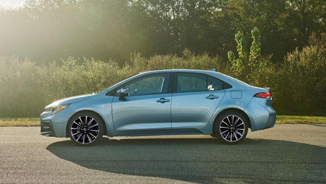 Maruti Corolla Based Premium Sedan side