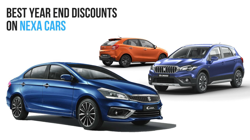 Maruti Suzuki Discounts For Nexa Cars